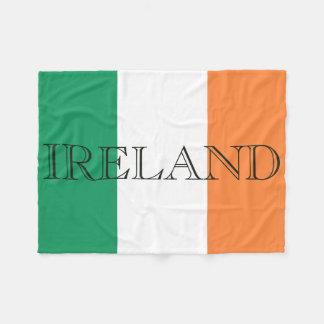 Cobertor De Velo A bandeira de Ireland rotula a cobertura do velo
