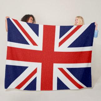 Cobertor De Velo A bandeira de Reino Unido acende coberturas do