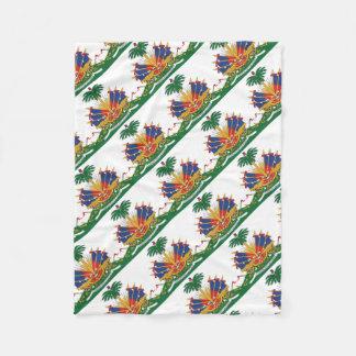 Cobertor De Velo A brasão de Haiti