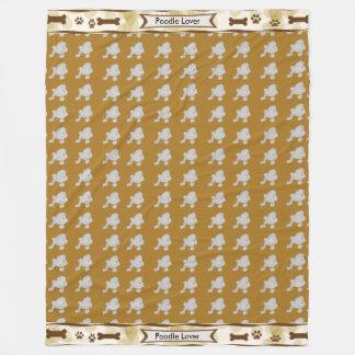 Cobertor De Velo A caniche, Tan sae de dogbones e de pawprints