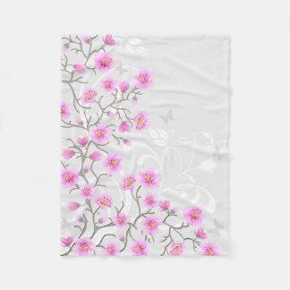 Cobertor De Velo A cereja japonesa floresce a cobertura pequena do
