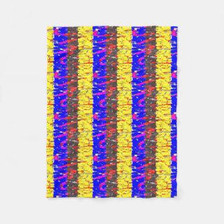 Cobertor De Velo A cobertura colorida do velo dos blocos de
