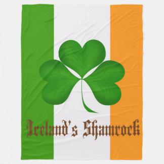 Cobertor De Velo A cobertura do velo de Ireland das -cores
