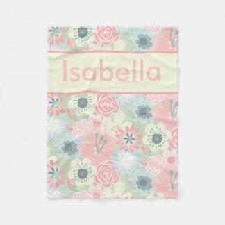 Cobertor De Velo A cobertura floral de Isabella