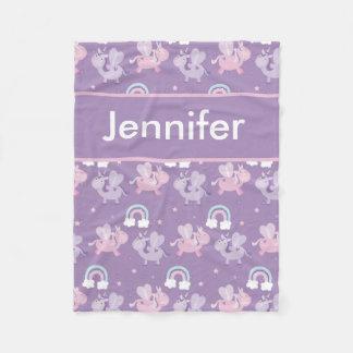 Cobertor De Velo A cobertura personalizada de Jennifer