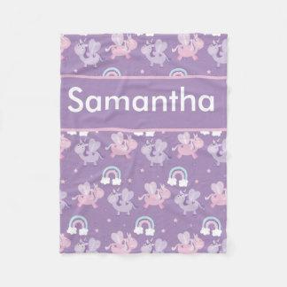 Cobertor De Velo A cobertura personalizada de Samantha