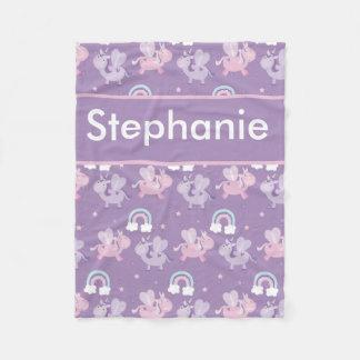 Cobertor De Velo A cobertura personalizada de Stephanie
