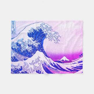 Cobertor De Velo A grande onda fora de Kanagawa