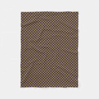 Cobertor De Velo a linha transversal abstrato dos pontos do design