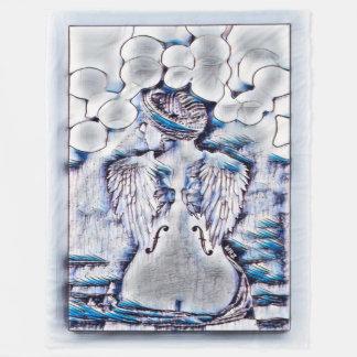 Cobertor De Velo A maioria de arte popular da tinta da aguarela da