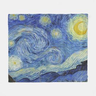 Cobertor De Velo A noite estrelado por Van Gogh