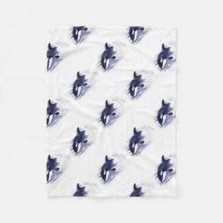 Cobertor De Velo A orca do bebê salta