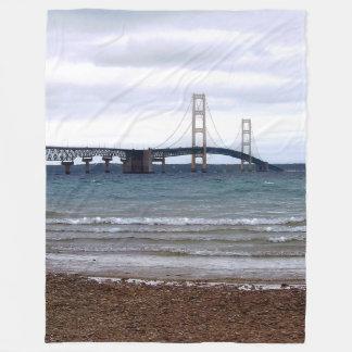 Cobertor De Velo A ponte de Mackinac
