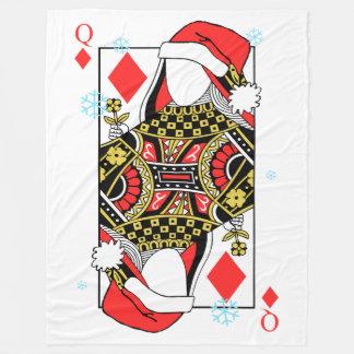 Cobertor De Velo A rainha do Feliz Natal de Diamante-Adiciona suas