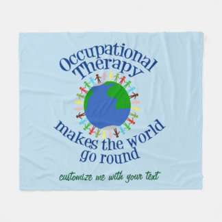 Cobertor De Velo A terapia ocupacional faz o mundo ir circularmente