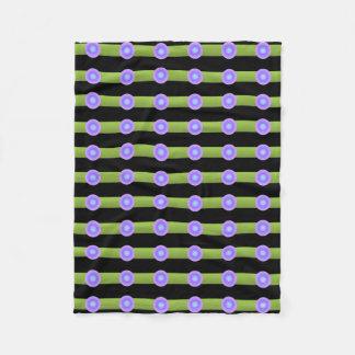 Cobertor De Velo Abstrato do minimalismo do teste padrão da arte de