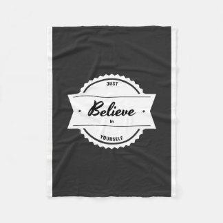 Cobertor De Velo Acredite em o senhor mesmo