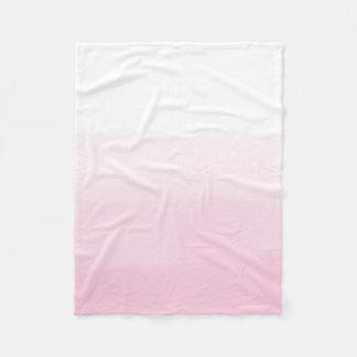 Cobertor De Velo Aguarela cor-de-rosa Ombre