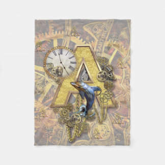 Cobertor De Velo Alfabeto, monograma A
