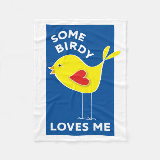 Cobertor De Velo Algum Birdy ama-me