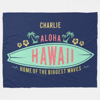 Cobertor De Velo Aloha cobertura conhecida feita sob encomenda do