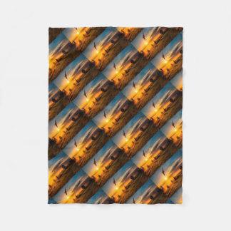 Cobertor De Velo Alvorecer enevoado do bombardeiro de Vulcan