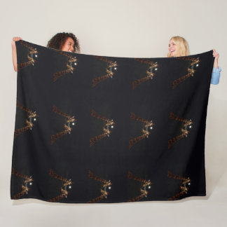 Cobertor De Velo Amor do girafa no luar, grande