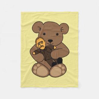 Cobertor De Velo Amor do ursinho