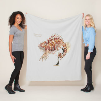 Cobertor De Velo Animal da fantasia de Chamelionfish
