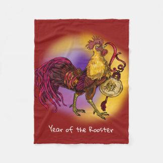 Cobertor De Velo Ano chinês do zodíaco do galo