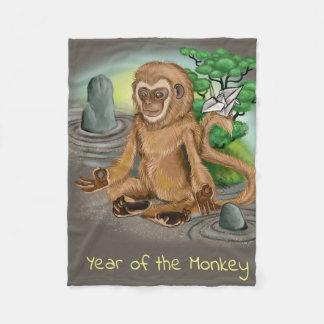 Cobertor De Velo Ano chinês do zodíaco do macaco