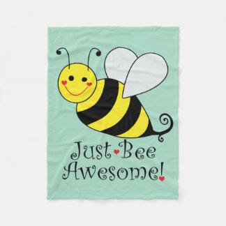 Cobertor De Velo Apenas a abelha impressionante Bumble a abelha