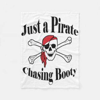 Cobertor De Velo Apenas um pirata que persegue o montante - crânio