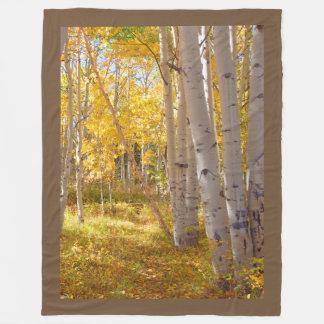 Cobertor De Velo Aquecedor do regaço das madeiras do outono