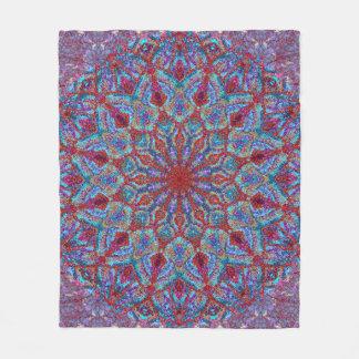 Cobertor De Velo arabesque colorido Boho-romântico do ornamento da