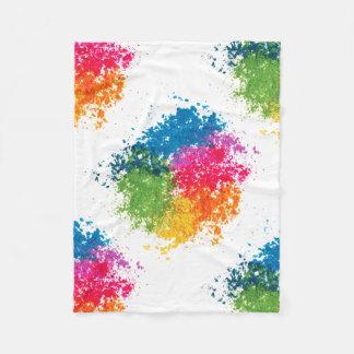 Cobertor De Velo Arco-íris do pó da cor