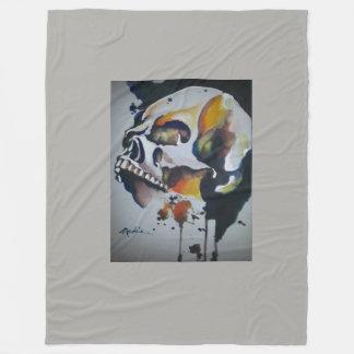 Cobertor De Velo Arte do crânio para decorar seu mundo