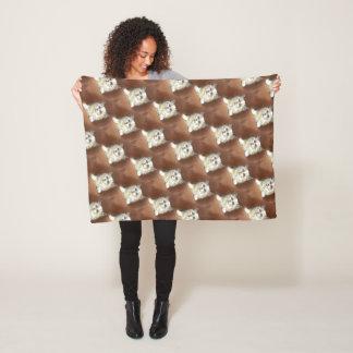 Cobertor De Velo Arte do gatinho de Ragdoll