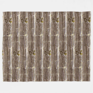 Cobertor De Velo Arte do Woodgrain