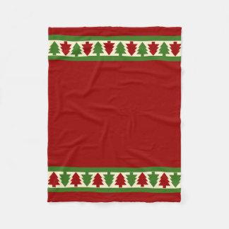 Cobertor De Velo Árvores de Natal