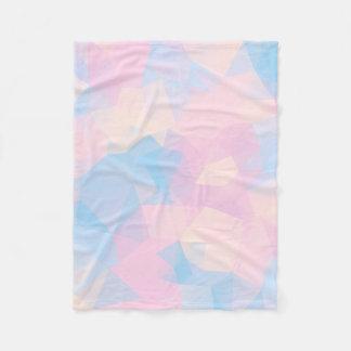 Cobertor De Velo As cores Pastel baixo polis