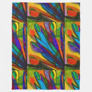 Cobertor De Velo Aumentaram os vidros coloridos