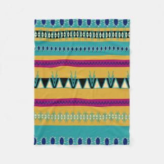 Cobertor De Velo Aztech tribal