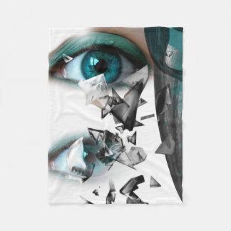 Cobertor De Velo Azul