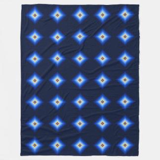 Cobertor De Velo Azul e diamante de Tan