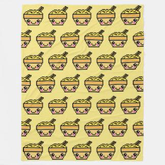 Cobertor De Velo Bacia TP do macarronete de Kawaii de oito bocados