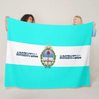 Cobertor De Velo Bandeira argentina