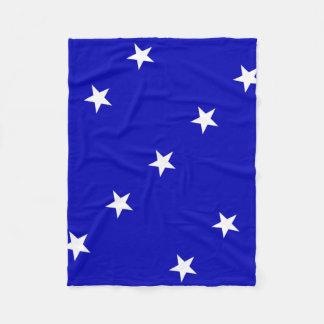 Cobertor De Velo Bandeira azul Bonnie