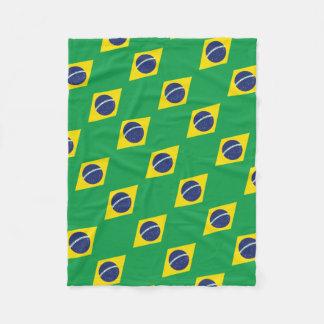 Cobertor De Velo Bandeira brasileira