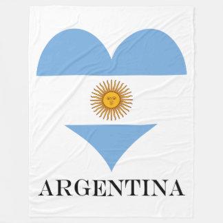 Cobertor De Velo Bandeira de Argentina